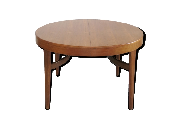 Table teck extensible for Table a manger extensible scandinave
