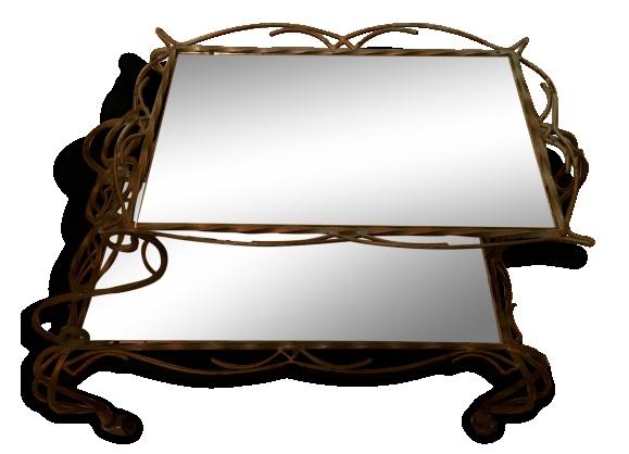 desserte fer achat vente de desserte pas cher. Black Bedroom Furniture Sets. Home Design Ideas