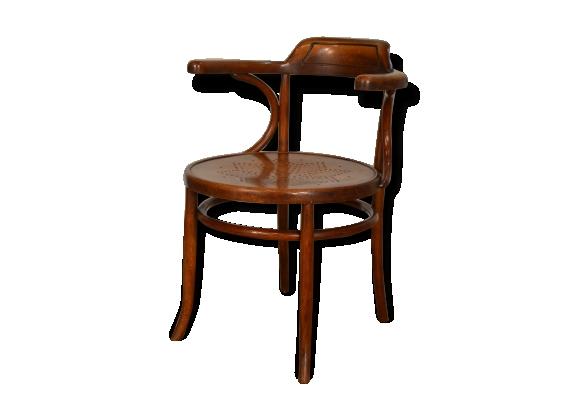 fauteuil de bureau en bois courb le fait main. Black Bedroom Furniture Sets. Home Design Ideas