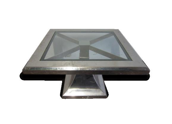table basse art. Black Bedroom Furniture Sets. Home Design Ideas