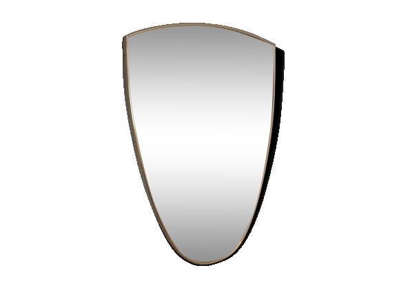 Miroir forme achat vente de miroir pas cher for Miroir bordure doree