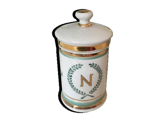 Pot en porcelaine Napoleon