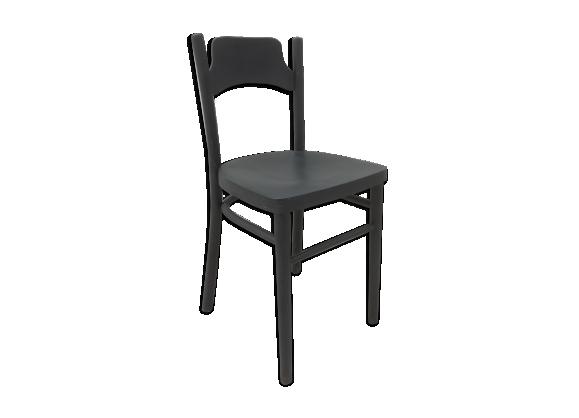 Chaise bistro gris béton