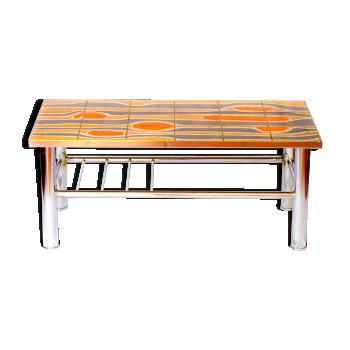 Table basse vintage 70's