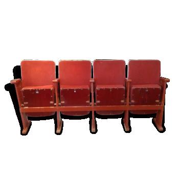 4 fauteuils cinéma