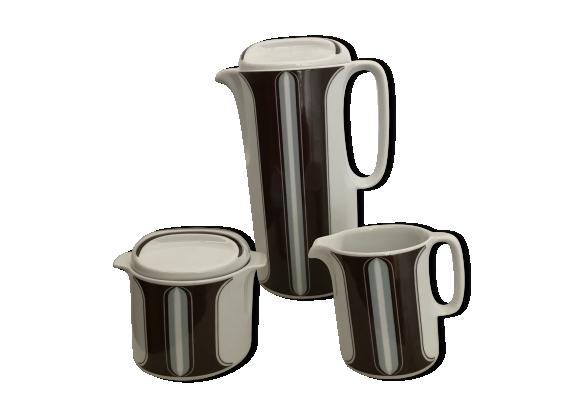 12tlg Set Tasses avec sous assiette Basic des tasses de thé café tasses cappucciontassen