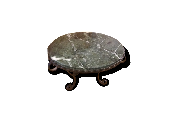 Table basse fer forge
