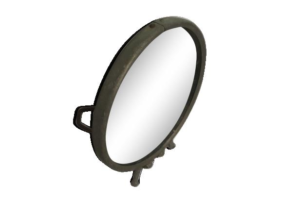 Miroir de barbier rond diamètre 15cm