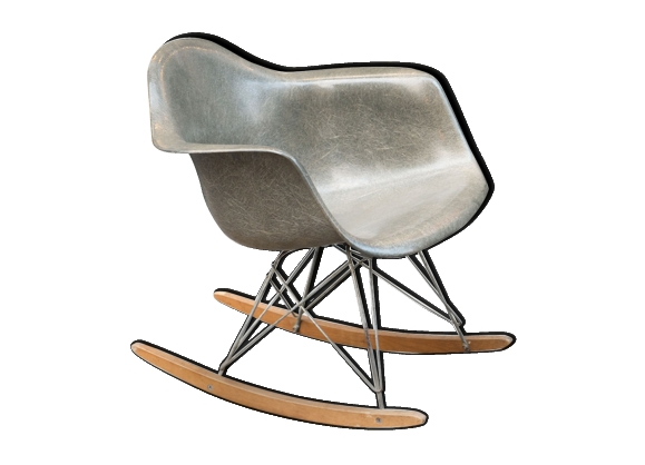Rocking chair vintage par Charles & Ray Eames pour Herman Miller - 1950