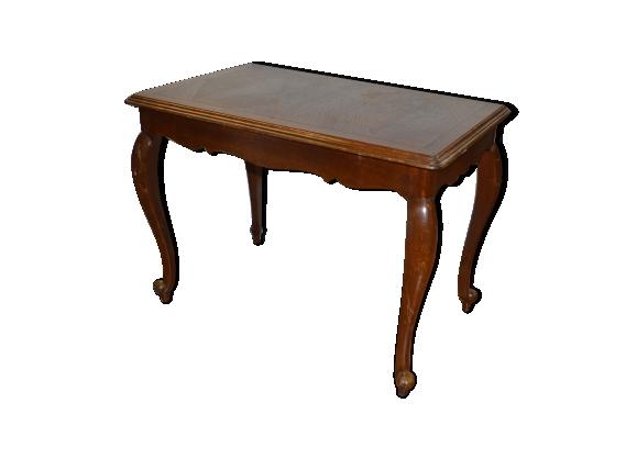Table rectangle style Louis XV en chêne